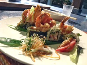 Treehouse Resort Negril now has Sushi
